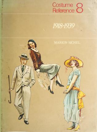 Cover of: Costume Reference No. 8 | Marion Sichel