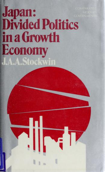 Cover of: Japan | J. A. A. Stockwin